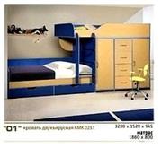 Мебель для детской комнаты Калинковичский Мебельный Комбинат