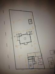 Продается участок (50 соток) с фундаментом под дом и готовым проектом