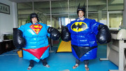 Inflatable Wrestling Sumo Suits Adults SET 2 Suits superman spiderman