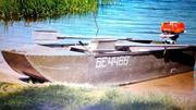Лодка дюралевая 3-х местная + мотор мак-3