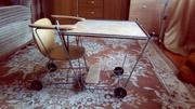 Детский раскладной столик-стул
