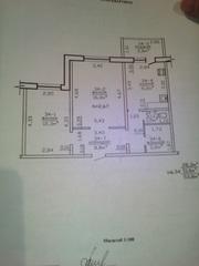 Отличная 2-ная квартира с ремонтом