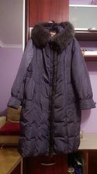 Зимнее пальто- пуховик