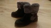 Ботинки зимние с меховой отделкой
